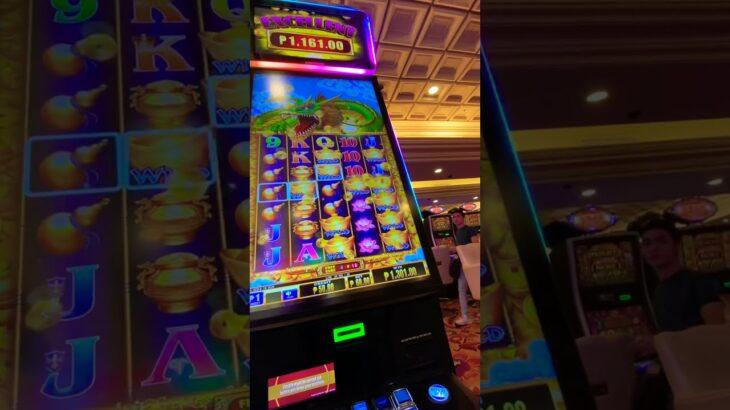 カジノのスロットで大当たり(マニラ、フィリピン)!!!!!!!! Big hit at casino slots! !! !! !! !! !! !! ! Manila マニラ