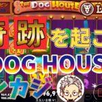 【オンラインカジノ】レオベガスでフリースピン購入可能機種スロットThe Dog House MEGAWAYSを回してみた!!この機種ももう二度と打たない!!