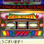 【場面集】月にいてもスロットに行く!5億ドル勝つ!【桃太郎電鉄USA】桃鉄 ラスベガス カジノ スロットマシン駅 1000万ドル・スロット「5億ドルがあたりました!」PlayStation2 切り抜き