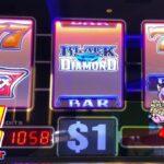 Black Diamond Slot Machine🤩😱 Max Bet $27 / 9lines @San Manuel Casino 赤富士スロット